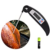 Instant Read Meat Thermometer AoLiPlus Super Fast Digital...
