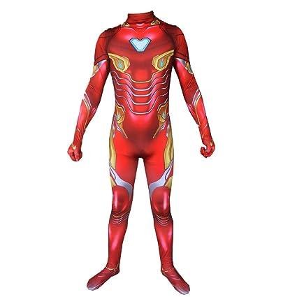 ZZX Traje De Cosplay De Superhéroe, Traje De Iron Man De ...