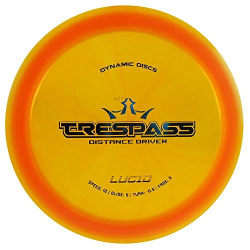 Dynamic Discs Lucid Trespass Distance Driver Golf Disc [Colors May Vary] - ()