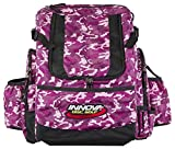 Innova Golf Disc Hero Backpack Bag, Magenta Camouflage