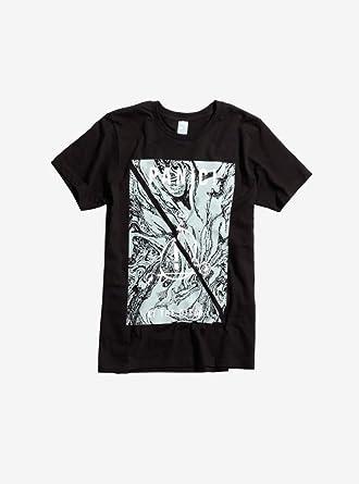 Hot Topic Panic At The Disco Marbled Symbols Logo T Shirt Black
