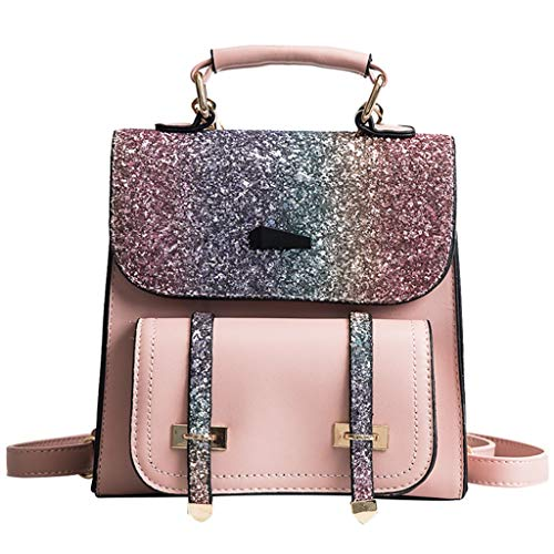 - Bsjmlxg Summer Classic Fashion Women Outdoor Simple Causal Sequins Colorful Crossbody Travel Shoulder Bag School Backpack