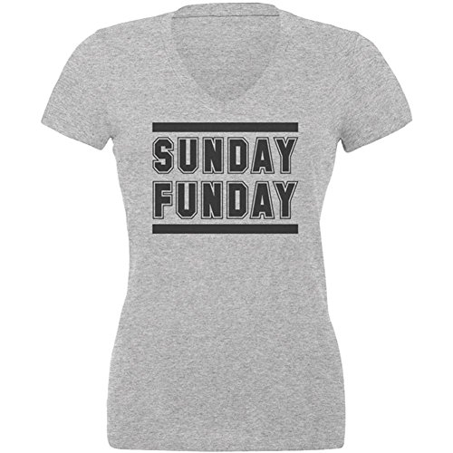 s V-Neck T Shirt Heather LG ()