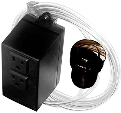 Westbrass ASB-2-12 Garbage Disposal Air Switch and Dual Outlet Control Box, Oil Rubbed Bronze