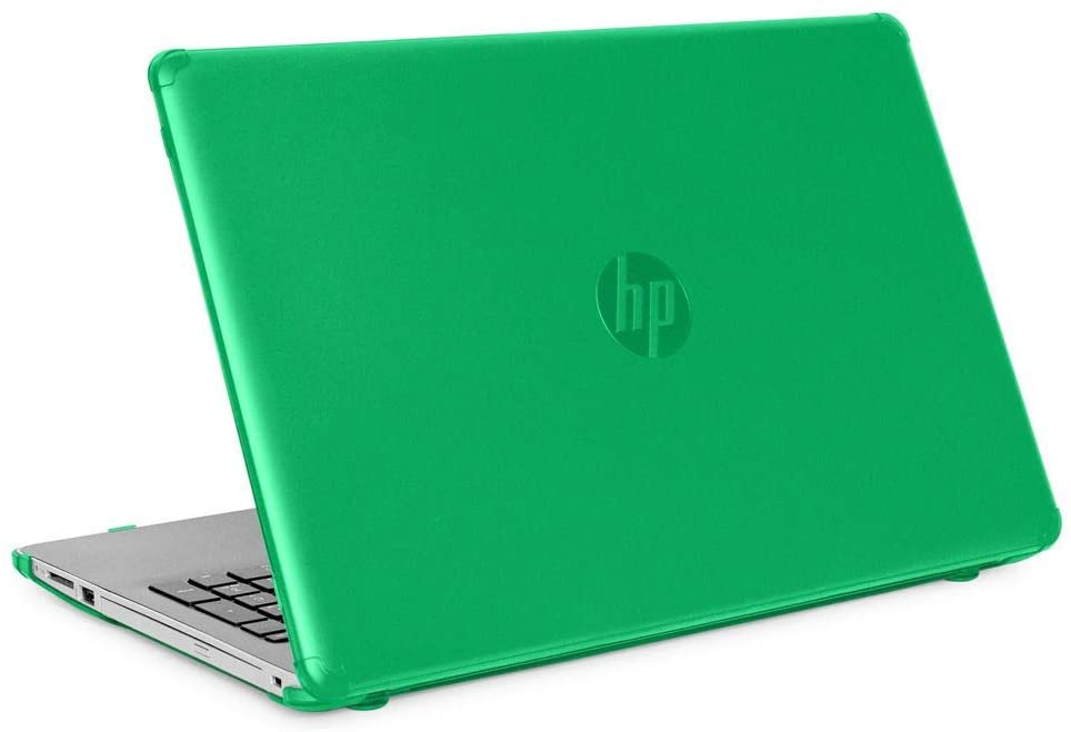"""mCover Hard Shell Case for New 2020 15.6"""" HP 15-DYxxxx Series Notebook PC (Green)"""