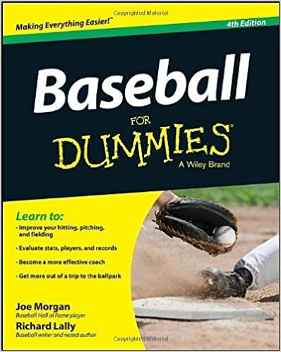 Book Baseball For Dummies (For Dummies (Sports & Hobbies))- Common