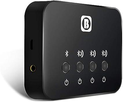 Sharplace BW-107 3-in-1 Ricetrasmettitore Bluetooth Splitter Audio per TV Altoparlanti Stereo Home