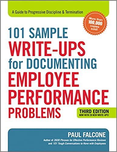employee write up template pdf