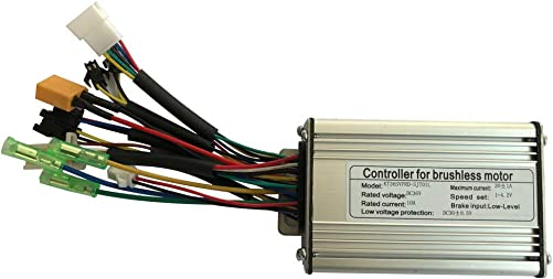 CSCbike E-Bike Controller 6 9 12 18 Mosfet KT Controller for 36 48V Electric Bicycle Brushless Hub Motor