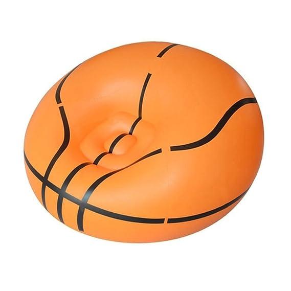 lzndeal sillón hinchable - Silla de balón de fútbol/de balón ...