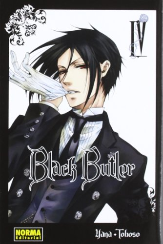 Black Butler 4 (Spanish Edition) by Norma Editorial Sa
