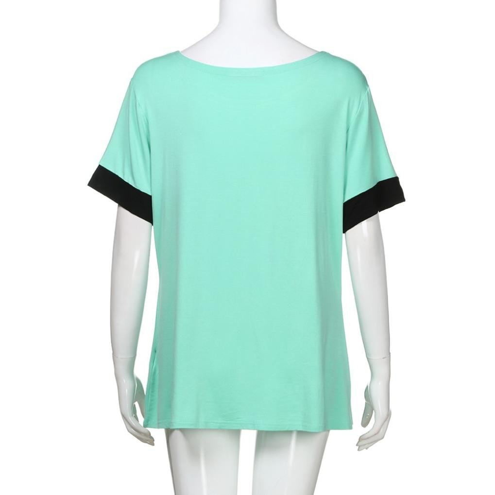 FNKDOR Summer Womens Mothers Day Gifts Yoga Hiking Jogging Relax Simple Comfortable Tops Short Sleeve Shirts Round Neck Casual T Shirts Loose Fit Tee Blouses