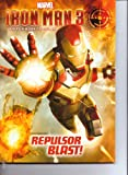 Marvel Iron Man 3 Big Fun Book to Color ~ Repulsor Blast