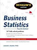 img - for Schaum's Outline of Business Statistics, Fourth Edition book / textbook / text book