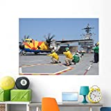 Us Navy Shooters Launch Wall Mural by Wallmonkeys Peel and Stick Graphic (60 in W x 43 in H) WM242422