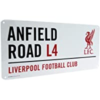 Official Liverpool FC Anfield Road L4 Metal Street Sign