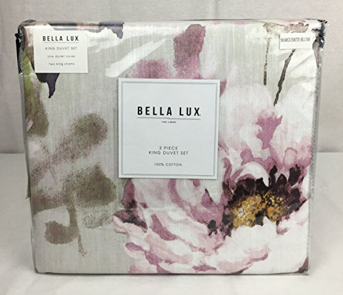 Bella Lux Fine Linens Cotton Duvet Cover Set Quot Marguerite