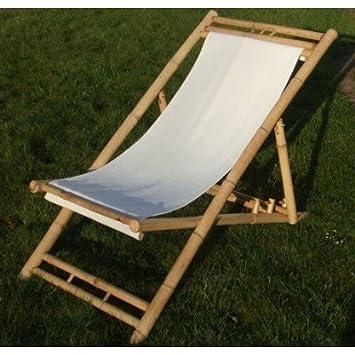 Amazonde Gartenliege Sonnenliege Relaxliege Bambusliege