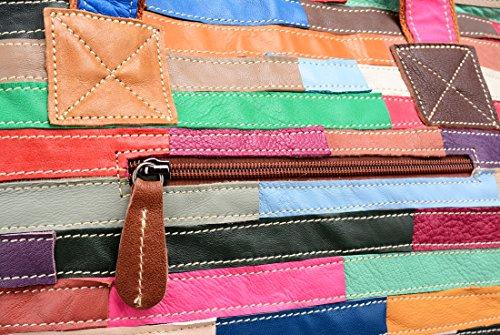 Womens Tote On Heshe Cross Multi Hobo Colorful Shoulder Bag Purse Body 30 Clearance color Handbag qvEEr5wx81
