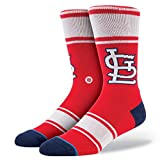Stance Cards St Louis Cardinals Mens Socks - Red (Large/X-Large 9-13)