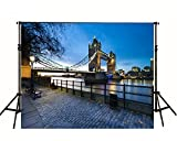 5x6.5FT Wedding Backgrounds Photography Backdrops Photo Studio London Bridge Photo Backdrops For Photographic Computer Printed Backgrounds L661