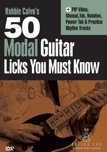 - 50 Modal Licks You Must Know