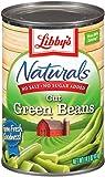 Libby's Naturals Cut Green Beans No Salt, No Sugar, 14.5 Ounce  Cans (Pack of 12)