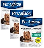 Pet Armor Flea Treatment for Dogs to 22-lbs - 9 month supply total