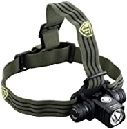 JETBeam HR25 Rechargeable LED Headlamp - 800 Lumens - CREE XM-L2 LED - Runs on 1x 18650 Battery (Included)