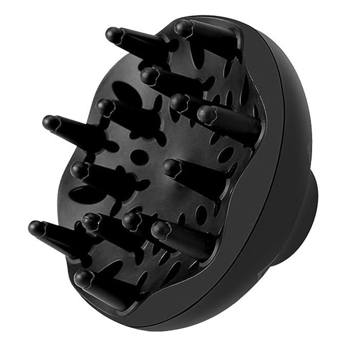 ... difusor universal para secador de pelo con boquilla D=4 - 5 cm ganar volumen máximo sin encrespamiento para salón de casa secador de pelo, rizado, ...