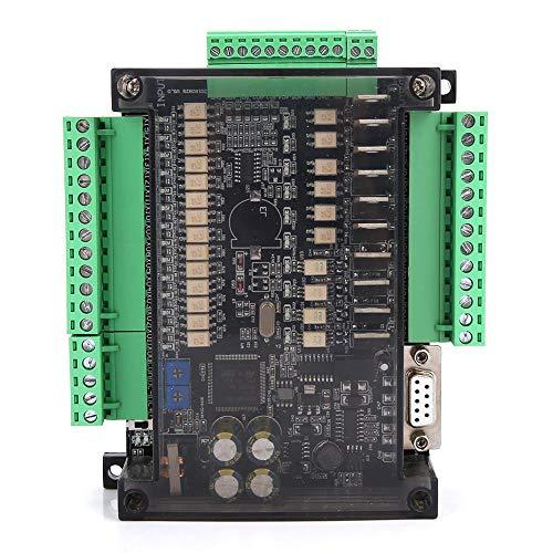 Industrial Control Board, FX3U-24MT Programmable Logic Controller 14 Input 10 Output 24V 1A PLC Industrial Control Board Relay
