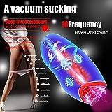 Adult Game Man Sucking Magnetic Charging Aircraft Cup Smart Heating Dual Motor Vibrating Masturbator Male Massage Masturbation Cup
