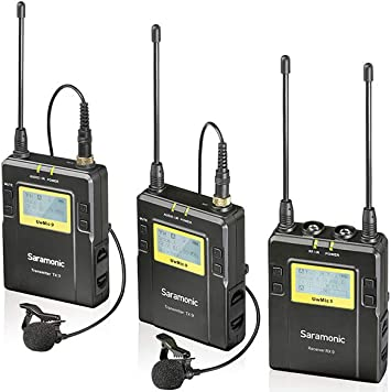 Saramonic UWMIC9 Kit 2 TX9+TX9+RX9: Amazon.es: Electrónica