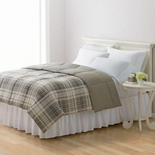 Home Classics Twin Down Alternative Comforter Reversible Kha