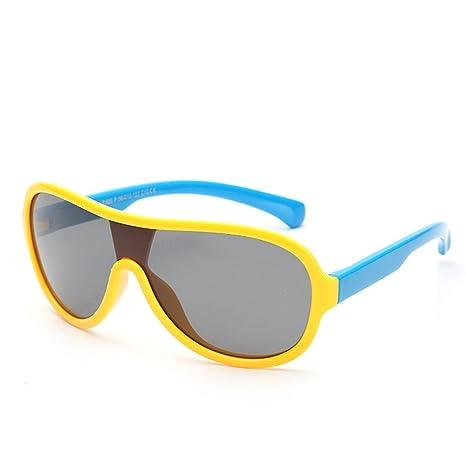Lentes de seguridad Estilo grande de una sola pieza Niños y niñas Gafas de sol  polarizadas aee3cecb16