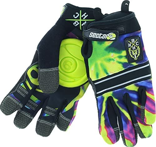 Sector 9 BHNC Slide Gloves [L/Xl] Limeburst by Sector 9