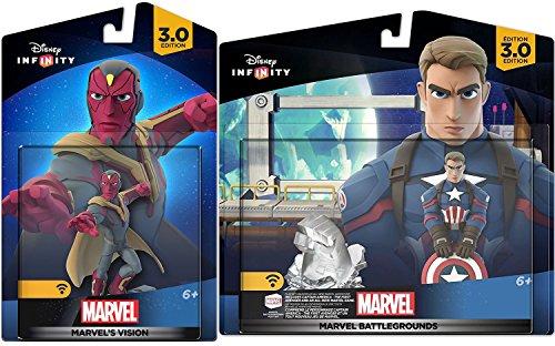 Marvel Infinity Super Hero Bundle Avengers Vision Character