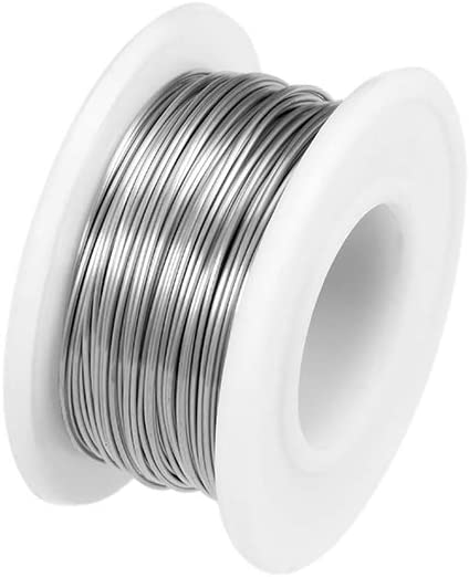 uxcell 20 Gauge Resistance Wire Wrapping 82ft Nichrome Heating Resistor Wires