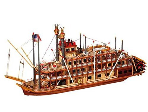 Kit Mississippi Model (Occre 14003 Mississippi 1:80 Scale Shipbuilding Kit)