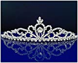 SC Bridal Wedding Tiara Crown 25307