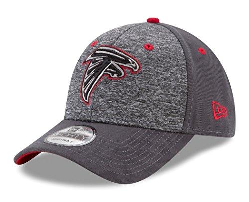 NFL Atlanta Falcons Adult Men The League Shadow 2 9FORTY Adjustable Cap, One Size, Graphite