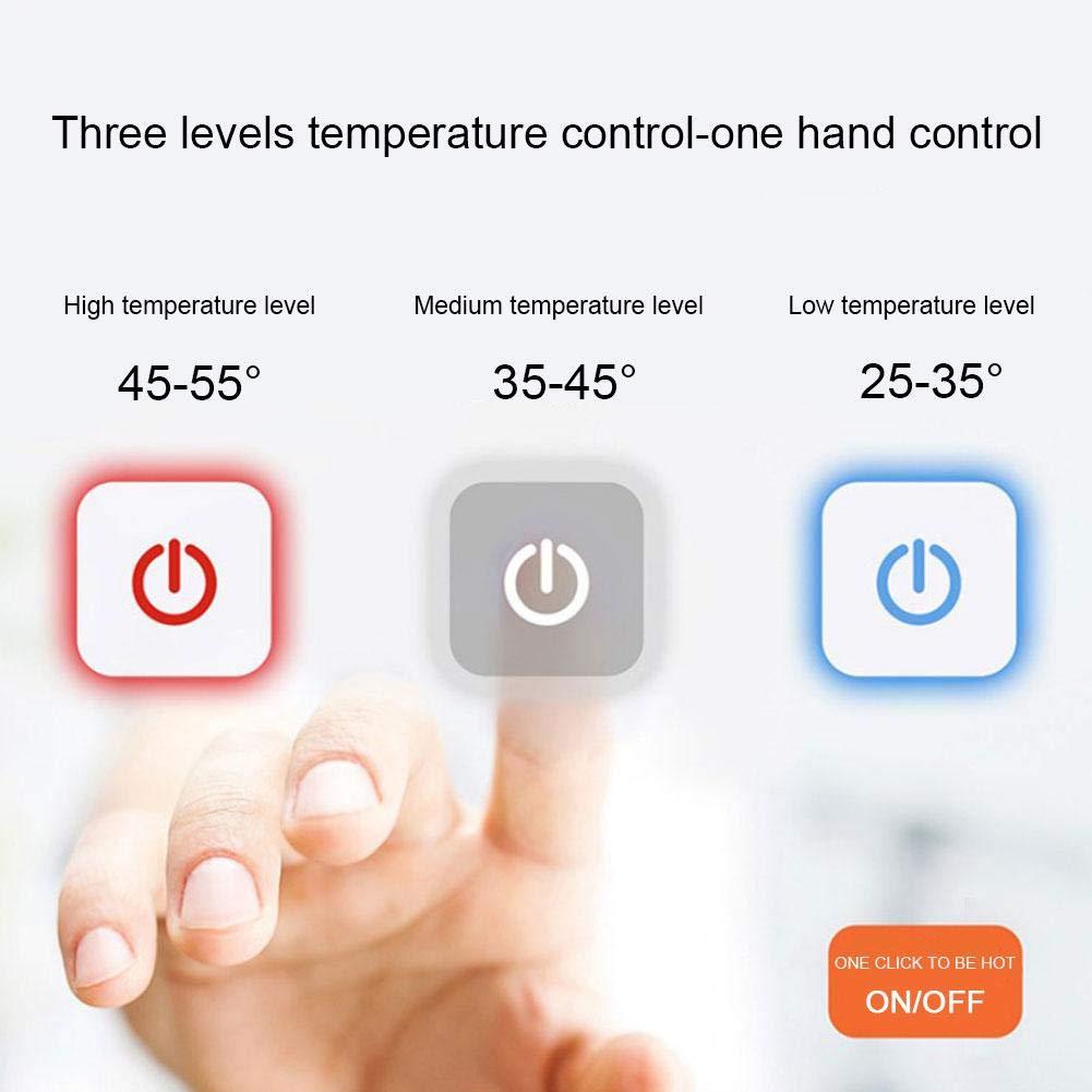 Amazon.com: Heitaisi - Chaqueta de calefacción inteligente ...