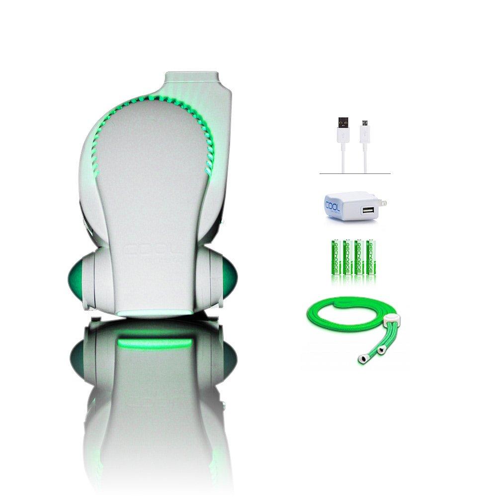 Rechargeable Stroller Fan by Cool On The Go – Bladeless Battery Operated Fan, Personal Fan, Portable Fan, USB Desk Fan Keep Cool Everywhere