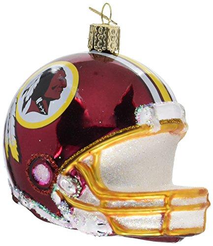 Old World Christmas Glass Ornament Washington Redskins Helmet]()