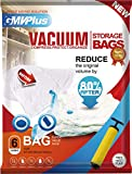 Vacuum Storage Bags, Sapce Saver for Clothes Comforters Pillows 6 pack Jumbo Size