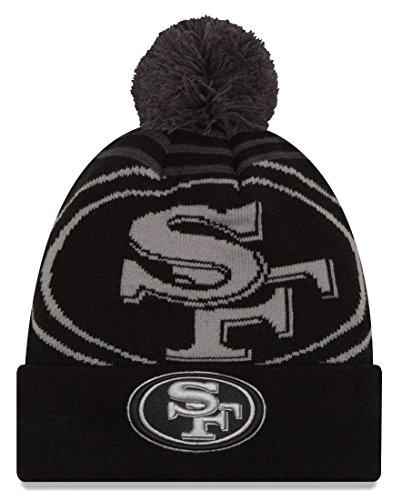 流行している引き付ける基礎理論San Francisco 49ers New Era NFL「ロゴWhizブラック