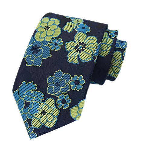 - Big Boys Yellow Blue Navy Silk Ties Polo Formal Clip on Neckties Men Collections