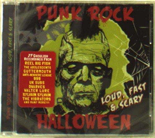 Punk Rock Halloween - Loud Fast & Scary / Various]()