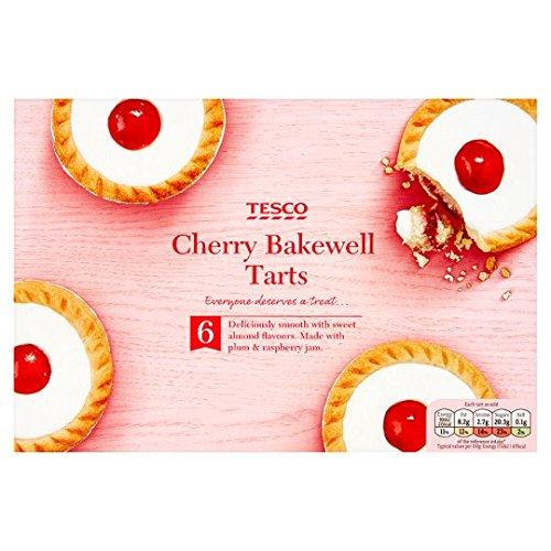 Tesco 6 Cherry Bakewell Tarts (And Almond Cherry Tart)