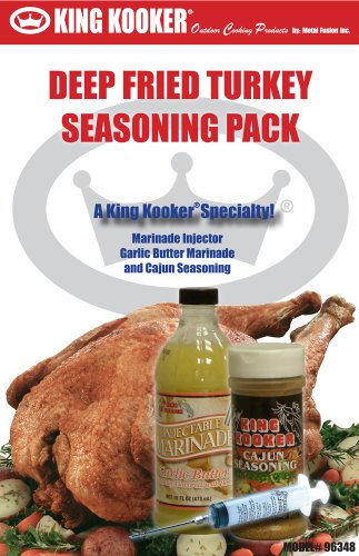 King Kooker 96348 Deep Fried Turkey Seasoning Pack